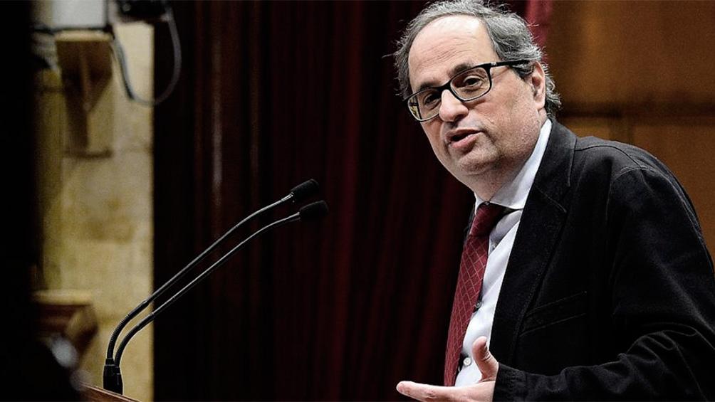 El Supremo español avaló la inhabilitación de Torra y amenaza su continuidad en el poder