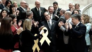Torra superó la segunda votación y se convirtió en presidente de Cataluña