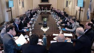 Macri encabeza una reunión de Gabinete y analiza la agenda del G20