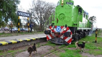 Llegó la nueva formación del Tren Patagónico cedida por el Gobierno Nacional