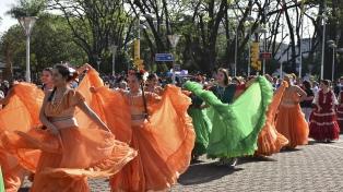 Oberá celebra la independencia del Paraguay con múltiples atractivos
