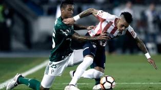Palmeiras venció a Junior, ganó el grupo y Boca festeja su pase
