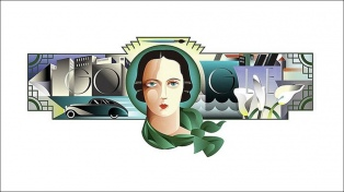Google celebra el cumpleaños 120 de Tamara de Lempicka