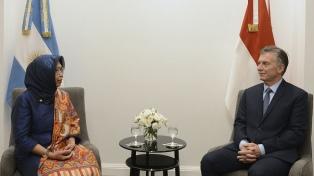Macri recibió las cartas credenciales de los embajadores de Estados Unidos, Indonesia y Panamá