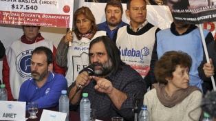 Los docentes bonaerenses irán a la huelga el próximo 23 de mayo