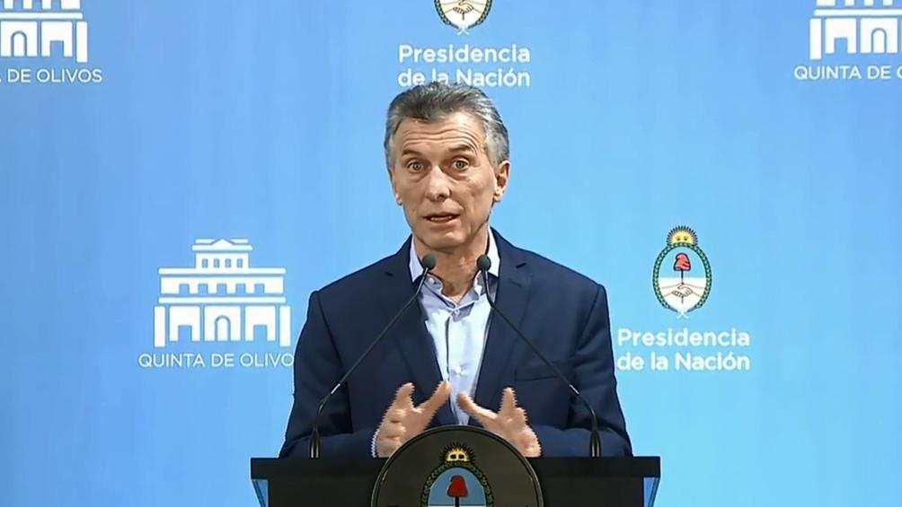 """OLIVOS – Macri: """"Acá pagamos la energía un tercio de lo que pagan en los países limítrofes"""""""