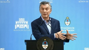 """Macri convocó a """"todos los sectores"""" a un acuerdo para reducir el déficit"""