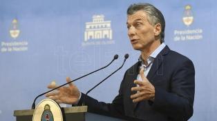 La conferencia de prensa de Macri, en 11 frases