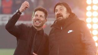 """Simeone y la apoteosis en el fútbol europeo con el """"Atlético"""""""