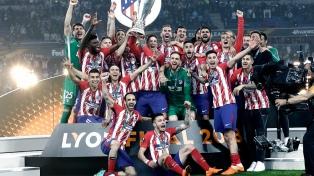 Atlético Madrid derrotó al Olympique y gritó campeón