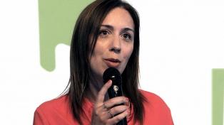 Vidal recorrió una obra de saneamiento hidráulico y desagües pluviales