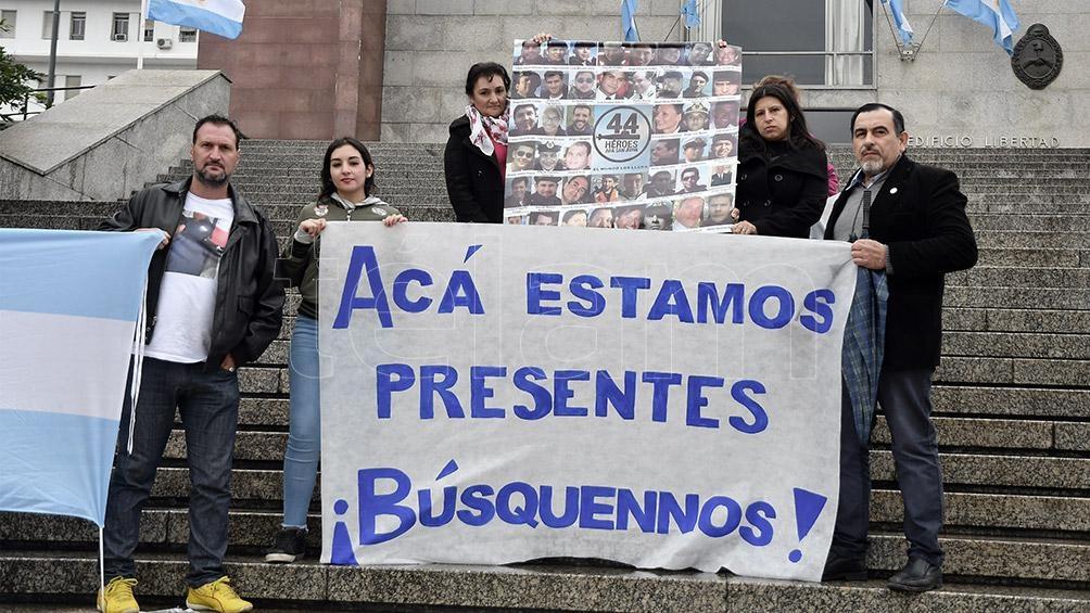 BS. AS.- MAR DEL PLATA  Continúan las declaraciones testimoniales en la causa por el ARA San Juan