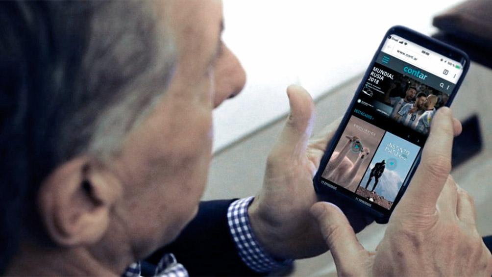Macri mostró desde sus redes sociales cómo usar