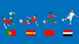 Grupo B: España y Portugal, un mano a mano de dos potencias