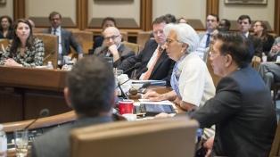 Lagarde transmitió al directorio del FMI el pedido argentino de un acuerdo Stand-By