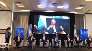 Líderes empresariales de Cuyo sesionan en el Foro B20