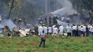 Murió una de las dos sobrevivientes del accidente aéreo de La Habana