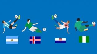 """Grupo D: La ilusión """"Albiceleste"""", Croacia, Nigeria e Islandia"""