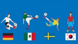 Grupo F: Alemania, Corea del Sur, Suecia y México a todo o nada