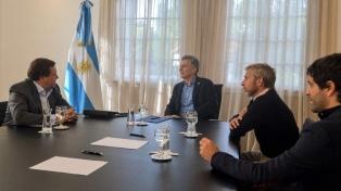 Macri recibió el apoyo de Weretilneck y Corpacci para bajar el déficit