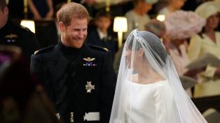 Se casaron el príncipe Harry y la actriz Meghan Markle