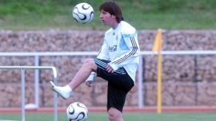 Alemania 2006, el primer mundial de Messi: entre el debut y la desilusión