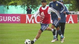 La Selección entrenó y aguarda por la lista de 23 jugadores del lunes