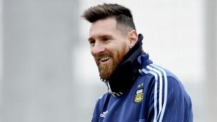 Messi llegará sin minutos a las prácticas de Argentina en Ezeiza