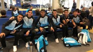 Racing se entrenó en Avellaneda antes de partir rumbo a Brasil para enfrentar a Cruzeiro