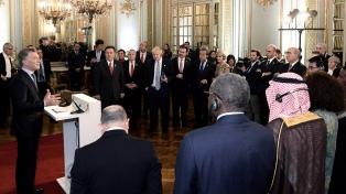 """Macri planteó que el eje del debate de cancilleres debe estar centrado """"en la gente y sus necesidades"""""""