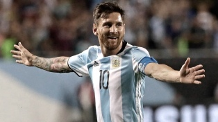 Messi llega a Madrid y se pone a disposición del seleccionado argentino