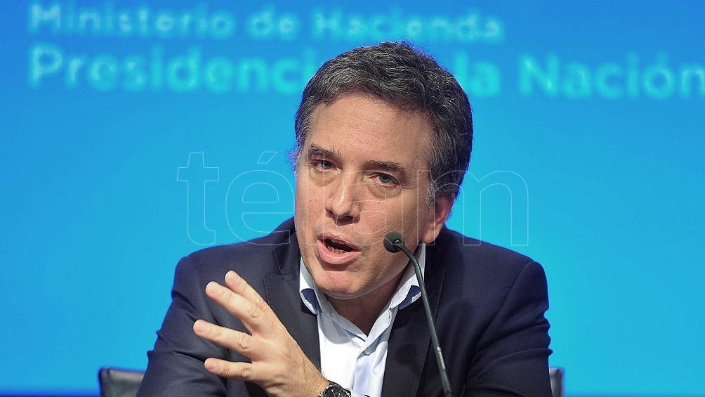 Nicolás Dujovne, ministro de Hacienda y Finanzas