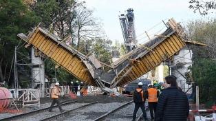 Tras un derrumbe, el San Martín presta un servicio reducido entre Pilar y Villa del Parque
