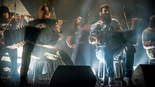 """""""Ahora y siempre"""", la radicalización de la expresión punk en la escena del tango"""