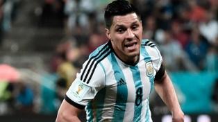 Enzo Pérez se sumó a la concentración y Argentina ya tiene su plantel completo
