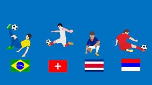 Grupo E: Brasil uno de los candidatos, Serbia, Suiza y Costa Rica