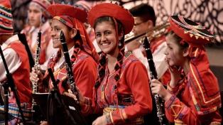 Niños y jóvenes provenientes de todo el mundo abren Iguazú en Concierto