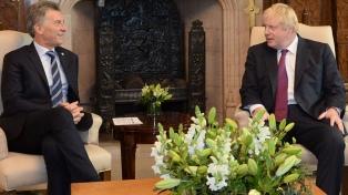 El Presidente recibió el respaldo de China, Reino Unido y Singapur