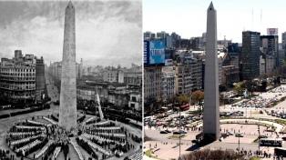 Cumple años el Obelisco porteño