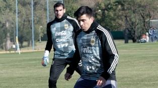 Guzmán y Acuña se sumaron a los entrenamientos