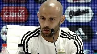 """Mascherano: """"La baja de Romero es sensible en lo futbolístico y humano"""""""