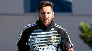 """Messi: """"Vamos a pelear de igual a igual ante cualquier selección"""""""