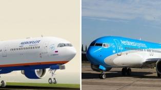 Aerolíneas Argentinas y Aeroflot pondrán una conexión aérea entre Buenos Aires y Moscú