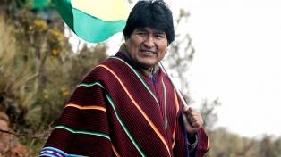"""Morales: Los opositores serán financiados por las """"oligarquías"""" de Chile, Brasil y EEUU"""