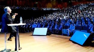"""Macri: hay que terminar con la violencia contra la mujer """"para siempre"""""""