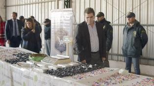 Detuvieron a una banda narco que tenía montada una trampa con una granada