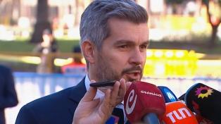 """Peña aseguró que """"no está en agenda"""" una modificación en las retenciones a la soja"""