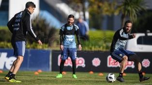 Sampaoli paró el posible equipo de Argentina para enfrentar a Haití el martes próximo