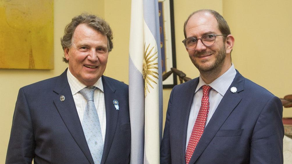 La Argentina acordó con el Reino Unido avanzar en comercio e ...
