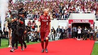 """Iniesta: """"Gallardo está haciendo un trabajo sensacional en River"""""""